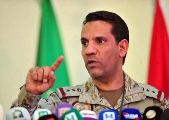 التحالف يصدر بيانًا إلحاقيًا بشأن سقوط صاروخين حوثيين في حجة