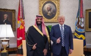 مغردون يتداولون صورة تلخص العلاقات السعودية – الأمريكية