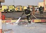 مدني سكاكا يباشر حريقًا اندلع في خزان محطة وقود