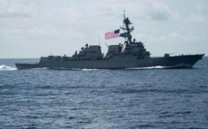 الصين تتهم سفينة حربية أمريكية بانتهاك سيادتها