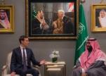 ولي العهد يناقش مع المبعوث الأمريكي للشرق الأوسط خطط السلام المستقبلية