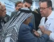 شاهد.. وفاة مسن عراقي أثناء لقائه ببرنامج تلفزيوني على الهواء إثر سكتة قلبية