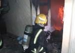 وفاة شخص إثر نشوب حريق داخل شقة في مكة