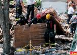 انفجار ضخم يدمر عدداً من المنازل في ولاية ميرلاند الأمريكية