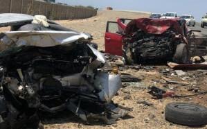 شاهد.. مصرع وإصابة 8 أشخاص إثر حادث تصادم على طريق الساحل بجدة
