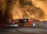 """""""مدن"""" تصدر بياناً حول حريق اندلع بأحد المصانع في الرياض"""