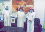 رئيس هيئة محافظة عقلة الصقور يقوم بزيارة لمركز أمارة النقرة