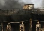 اندلاع حريق ضخم في محطة وقود بالقنفذة