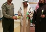 جوازات مطار الأمير نايف الدولي بالقصيم تشارك في الاحتفالات باليوم الوطني البحريني