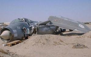 سقوط طائرة عسكرية أمريكية في العراق