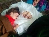 مغردون يتداولون صورة مبكية لطفلة سورية