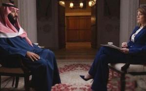 فيديو.. قناة CBS تذيع لقطات من لقاء ولي العهد