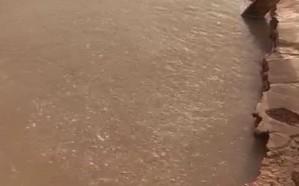فيديو.. مواطن يكتشف عين كبريتية في الرياض