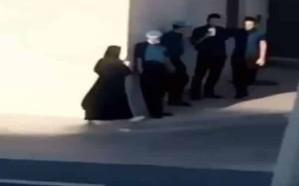 شاهد: عامل يقابل فتاة خلف مطعم شهير.. والمغردون يتسائلون