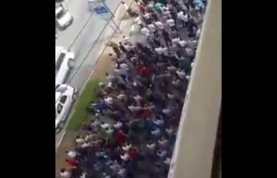 شاهد.. استمرار التظاهرات في شمال عاصمة #الأحواز