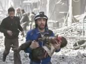 """فيديو.. حفل راقص لـ""""حقوق الإنسان"""" على دماء الغوطة"""