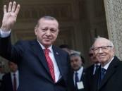"""السبسي يلقن أردوغان درسًا ردًا على شعار """"رابعة"""""""