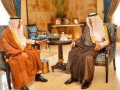 """أمير مكة المكرمة يستقبل رئيس القطاع الغربي السابق بـ""""السعودية للكهرباء"""""""