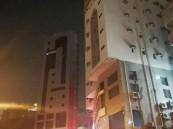 مدني العاصمة المقدسة يخلي 500 نزيل إثر حريق شبَّ في فندق