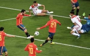 إسبانيا تنجو من فخ المغرب