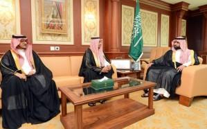 الأمير محمد بن عبدالعزيز يستقبل مديري تعليم جازان وصبيا