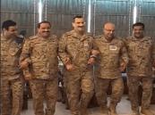فيديو.. قائد القوات الجوية يؤدي الخطوة الجنوبية مع قيادات عسكرية