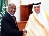 الجبير يستعرض العلاقات الثنائية مع وزير خارجية إريتريا