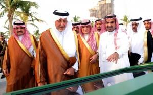 أمير مكة يفتتح الحديقة الثقافية في جدة