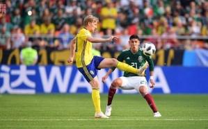 السويد تفوز على المكسيك
