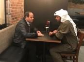 فيديو.. السيسي وولي عهد أبو ظبي يتناولان العشاء في أحد المطاعم