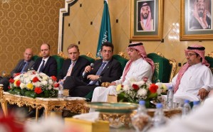 العواد يلتقي سفراء الاتحاد الأوروبي لدى المملكة