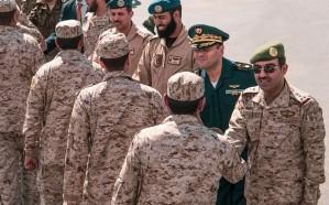 القوات الجوية الملكية تصل تونس
