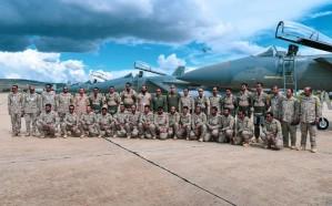 اكتمال وصول طائرات القوات الجوية إلى تونس