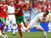 رونالدو يقود البرتغال للفوز على المغرب