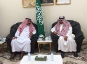 المهندس سعود العنزي يقوم بزيارة لمركز النخيل