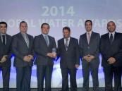 """""""المياه الوطنية"""" تفوز بجائزة أفضل مشروع عالمي لـ 2014"""