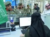 اليحيى يتفقد صالات الحج في مطار الملك عبدالعزيز الدولي