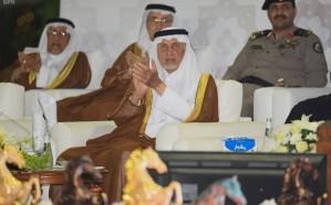الفيصل يتوج الفائزين في البطولة الدولية لجمال الجواد العربي