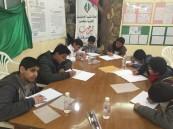 لجنة التنمية الاجتماعية بالظفير تقيم دورة لتحسين الخط العربي