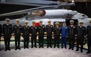 """الدفاع تُدشن الطائرة """"MH-60R"""" التابعة للقوات البحرية"""