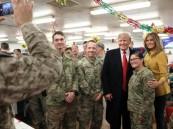 ترامب يصل العراق في زيارة مفاجئة