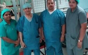 جراحة ناجحة لإنقاذ مصاب بتهتك في الكبد وجدار البطن بمستشفى صامطة العام