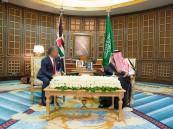 خادم الحرمين وملك الأردن يعقدان جلسة مباحثات
