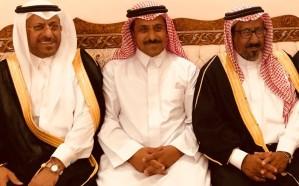 خضر آل زهيد يحتفل بعقد قران نجله