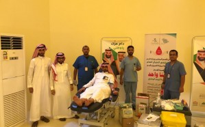 """""""دمنا واحد"""" حملة مستشفى الطوال العام للتبرع بالدم"""