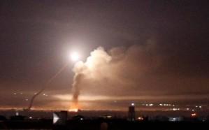 سماع دوي انفجارات في محيط مطار الضبعة بريف حمص