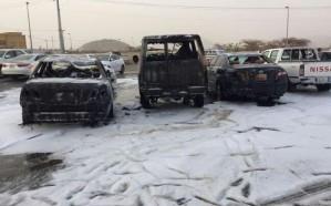 سقوط مقذوف عسكري على حي سكني بنجران أطلقته عناصر حوثية من داخل اليمن