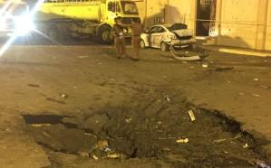مدني نجران يباشر حادث اعتراض الصاروخ الباليستي