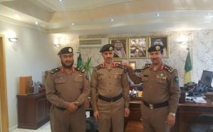 محمد الشهراني إلى رتبة عميد في مدني عسير