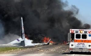 تحطم طائرة عسكرية أمريكية قرب مطار سافانا